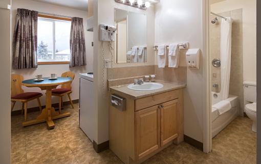 Hotel Room Kitchen