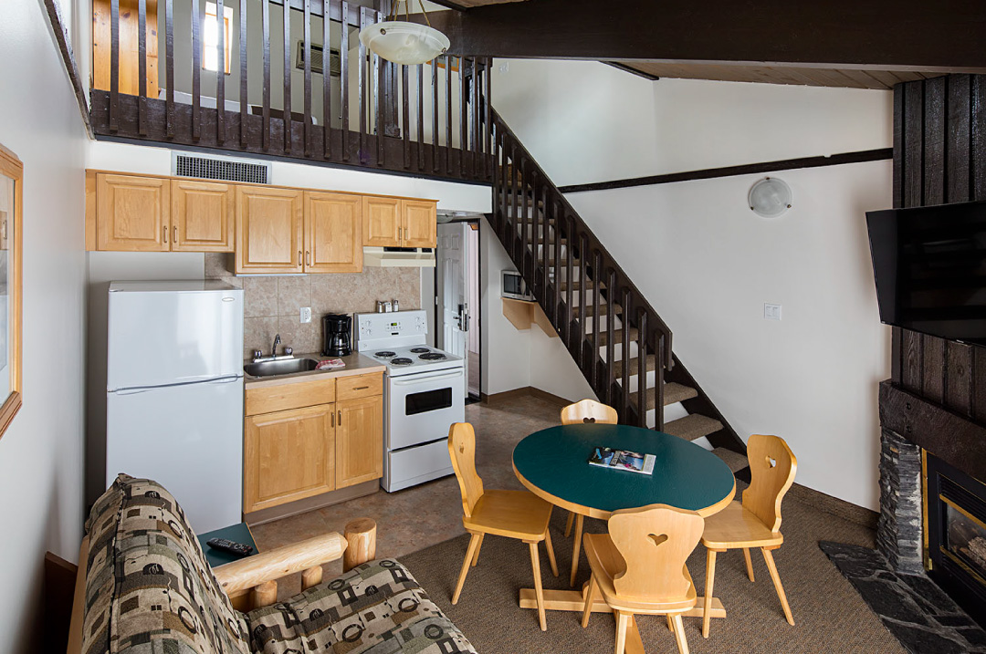 Loft Apartment At The Rocky Mountain Ski Lodge In Canmore Amazing 2 Bedroom Loft