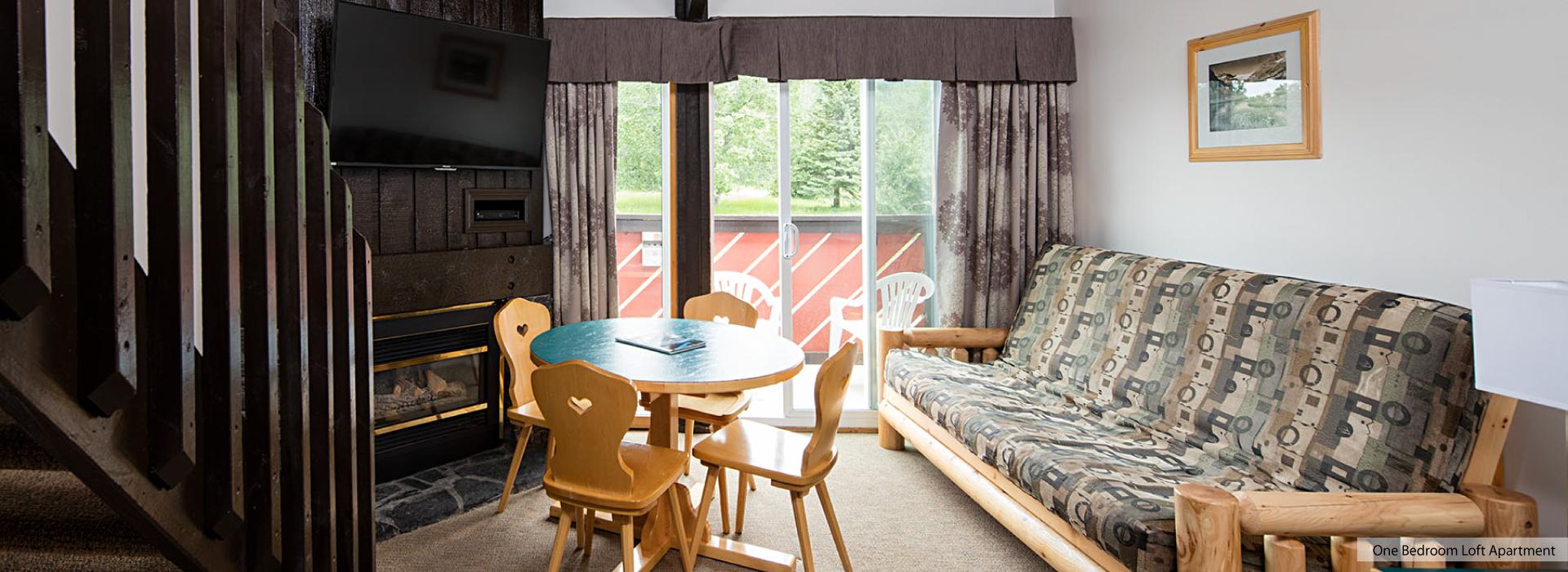 Bedroom Loft Apartment